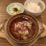 札幌狸小路「土鍋ハンバーグ北斗星」はご飯とサラダがおかわり無料!